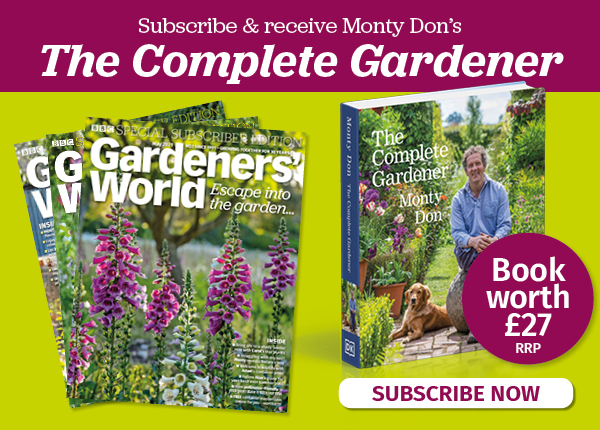 BBC Gardeners' World Magazine, subscribe and save