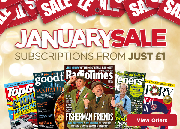 Try our best magazine subscription offers this January