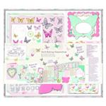 Butterfly Cardmaking pack