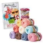 Lily Sugar 'n Cream yarn bundle & 'Let's Dish' pattern book