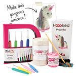 Hoooked amigurumi unicorn kit & KnitPro hook set