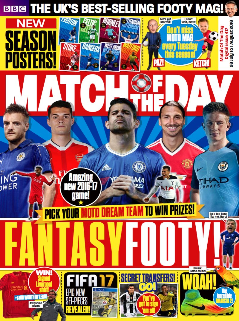 Match of the Day Issue 417 (Team Tabs 1)