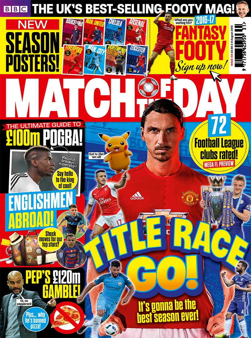 Match of the Day Issue 418 (Team Tabs 2)