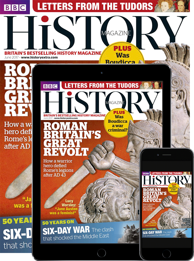 BBC History Print & Digital Magazine Subscription