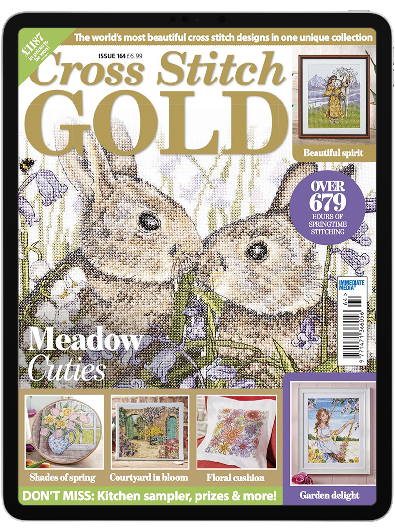 Click to view product details and reviews for Cross Stitch Gold Digital Magazine Subscription.