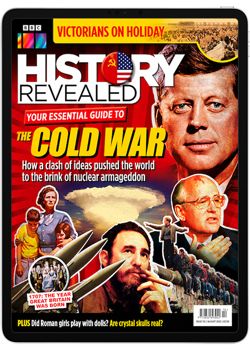 Image of History Revealed digital magazine