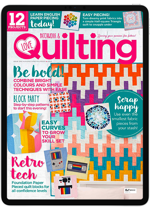 Click to view product details and reviews for Love Patchwork Quilting Digital Magazine Subscription.