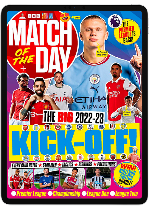 Match Of The Day Digital Magazine Subscription