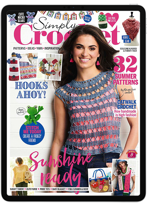 Click to view product details and reviews for Simply Crochet Digital Magazine Subscription.
