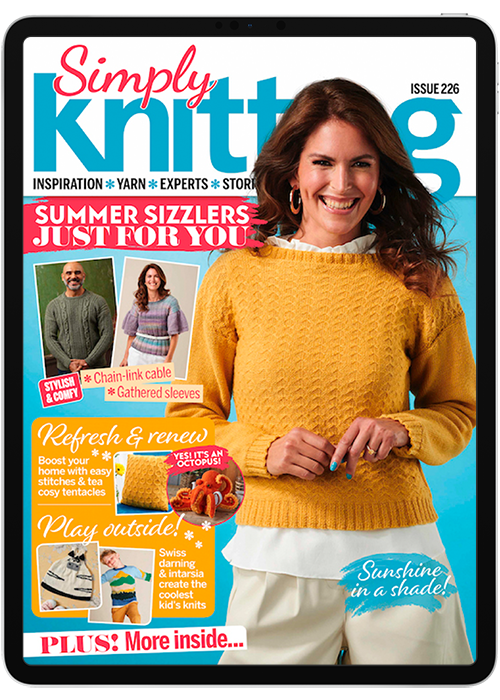 Click to view product details and reviews for Simply Knitting Digital Magazine Subscription.