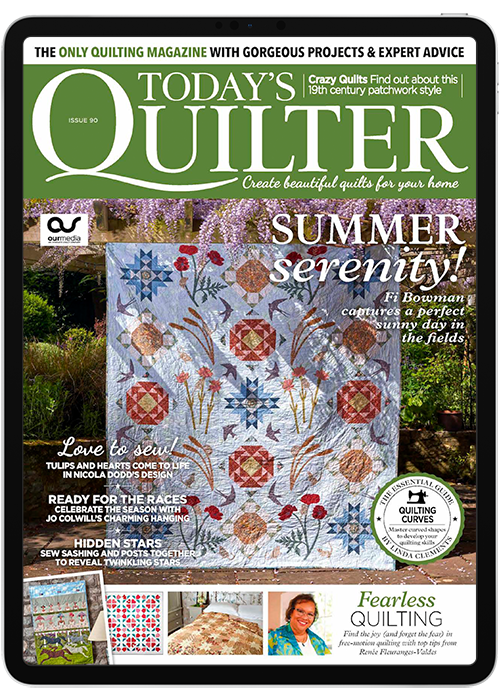 Todays Quilter Digital Magazine Subscription