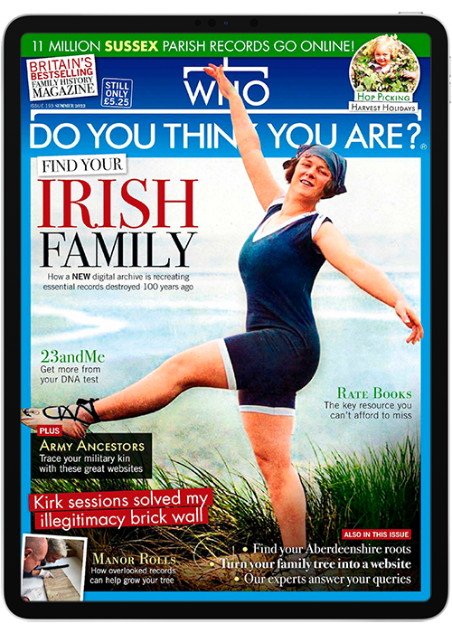 Click to view product details and reviews for Who Do You Think You Are Digital Magazine Subscription.