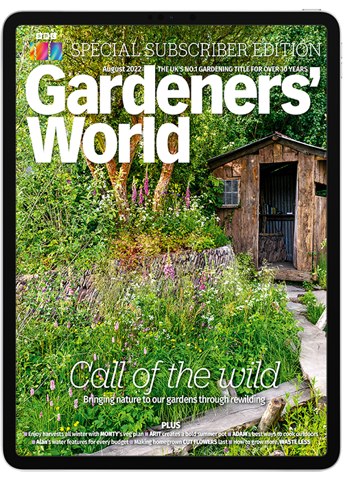 BBC Gardeners' World Magazine Digital Subscription