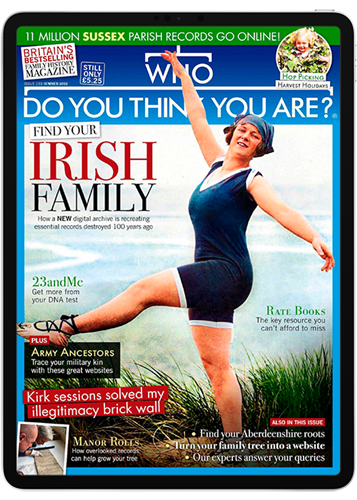 Who Do You Think You Are? Digital Subscription