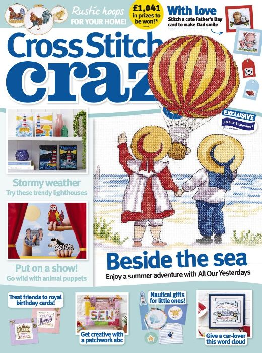Cross Stitch Crazy Magazine  half price special offer on subscriptions.