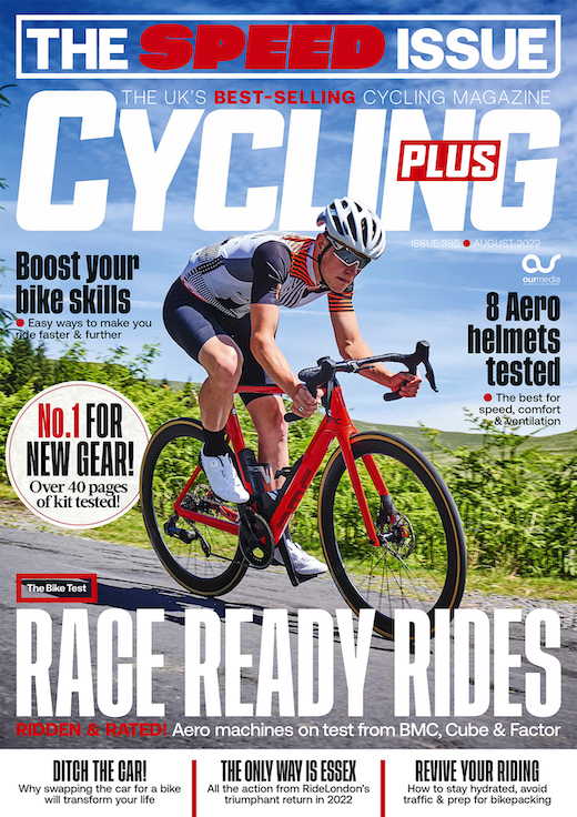 Cover: Cycling Plus magazine