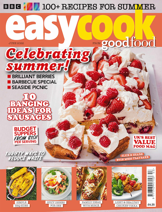 BBC Easy Cook Magazine  half price special offer on subscriptions.