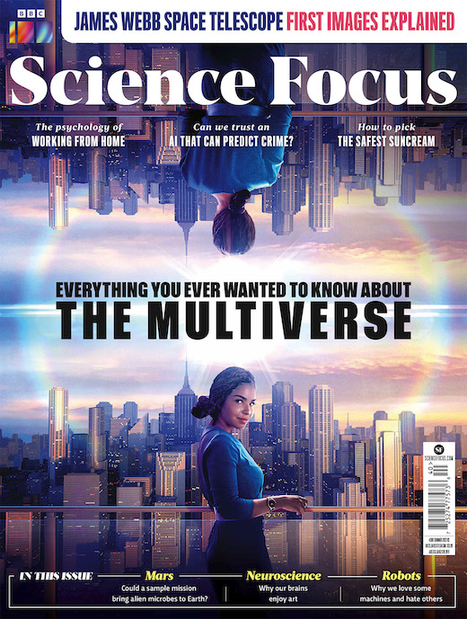 BBC Science Focus Magazine  half price special offer on subscriptions.