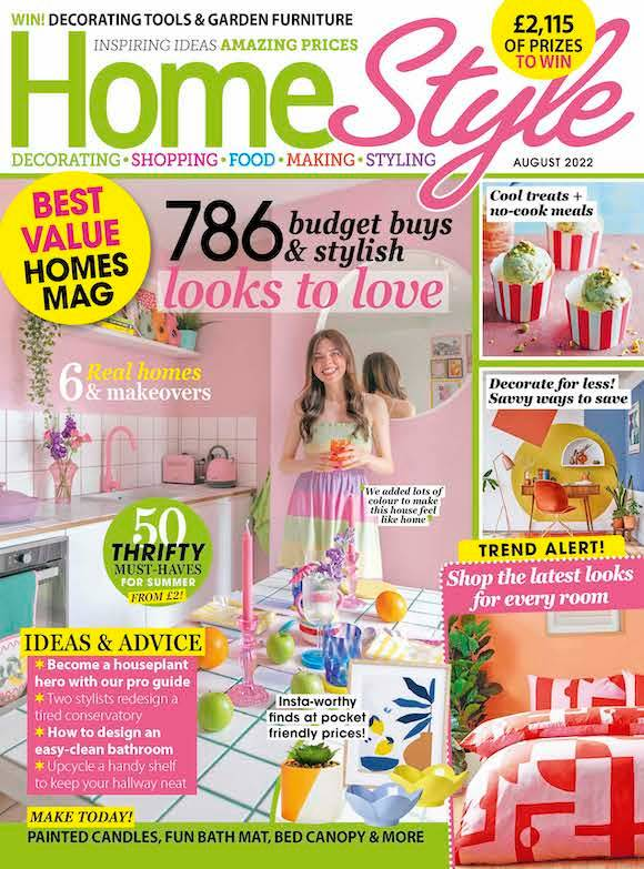 HomeStyle Magazine  half price special offer on subscriptions.