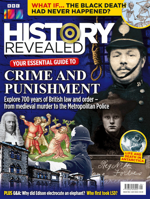 Cover: History Revealed magazine