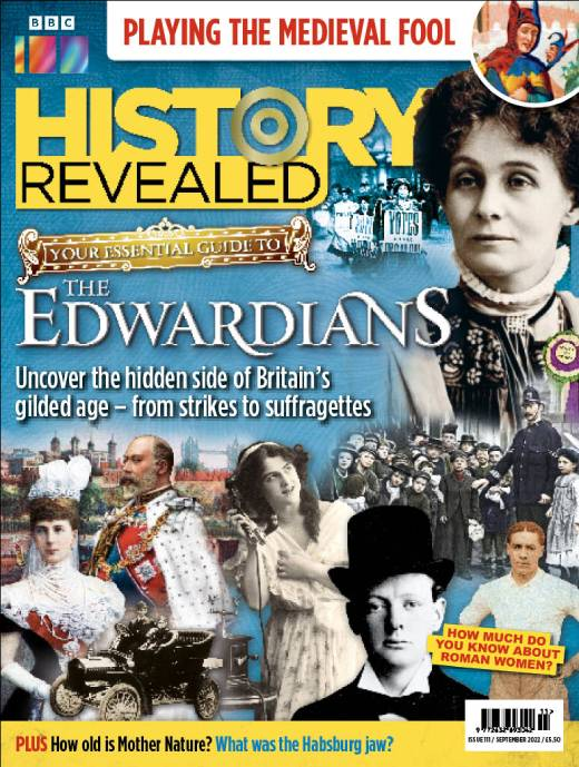 BBC History Revealed Magazine  half price special offer on subscriptions.
