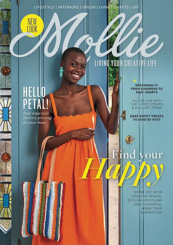 Mollie Makes Magazine  half price special offer on subscriptions.