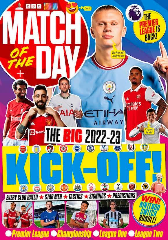Click to view product details and reviews for Match Of The Day Magazine Subscription.