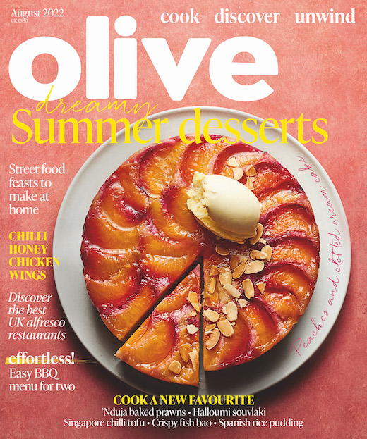 olive Magazine  half price special offer on subscriptions.