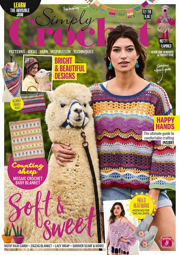 Simply Crochet Magazine  half price special offer on subscriptions.