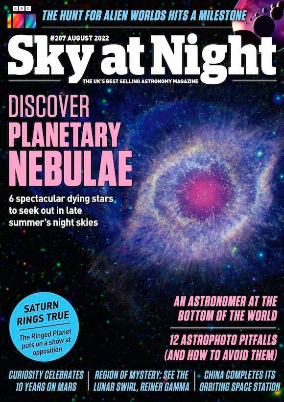 BBC Sky at Night Magazine  half price special offer on subscriptions.
