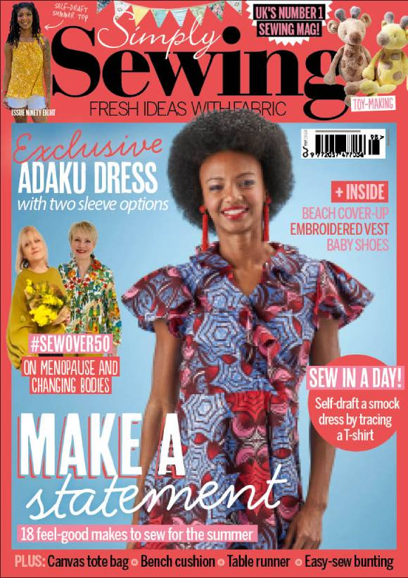 Cover: Simply Sewing magazine