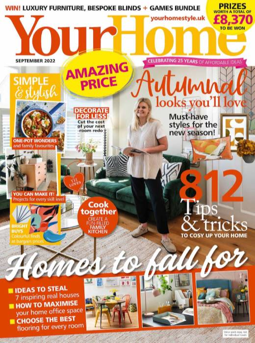 Your Home Magazine  half price special offer on subscriptions.