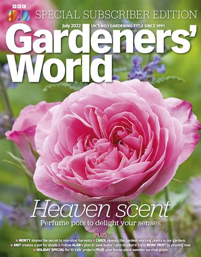 BBC Gardeners' World Magazine Back Issues