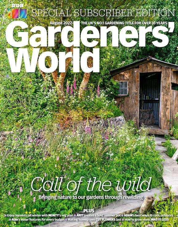 gardeners world magazine cover
