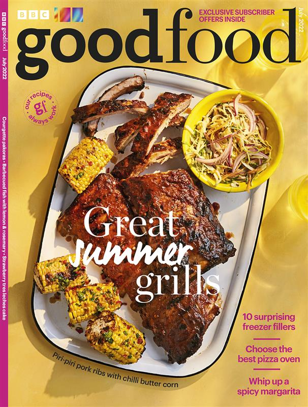 good food magazine cover