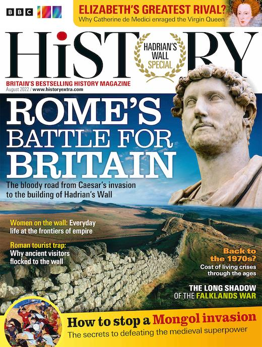 history magazine cover