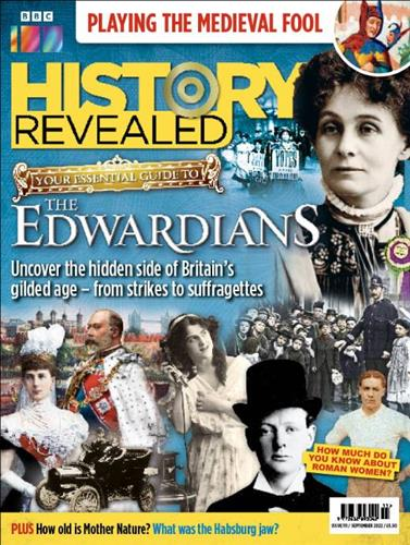 BBC History Revealed Magazine Subscription