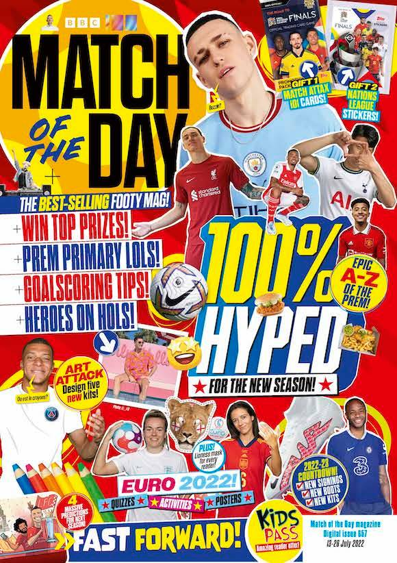 Match of the day magazine christmas 2019 gift