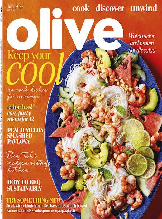 olive magazine cover