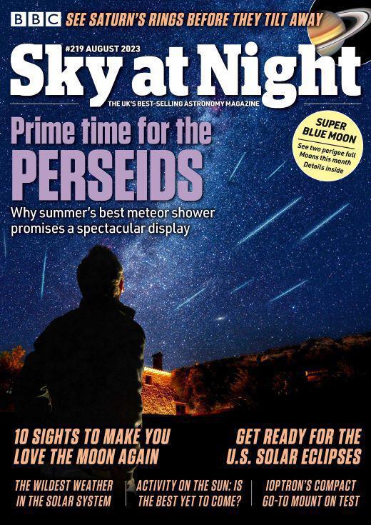 sky magazine cover