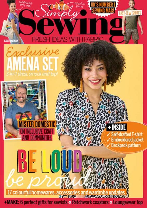 simply sewing magazine cover