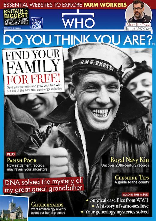 who do you think you are magazine cover