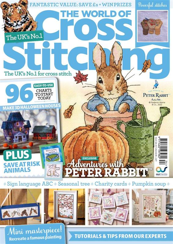 world of cross stitch magazine cover