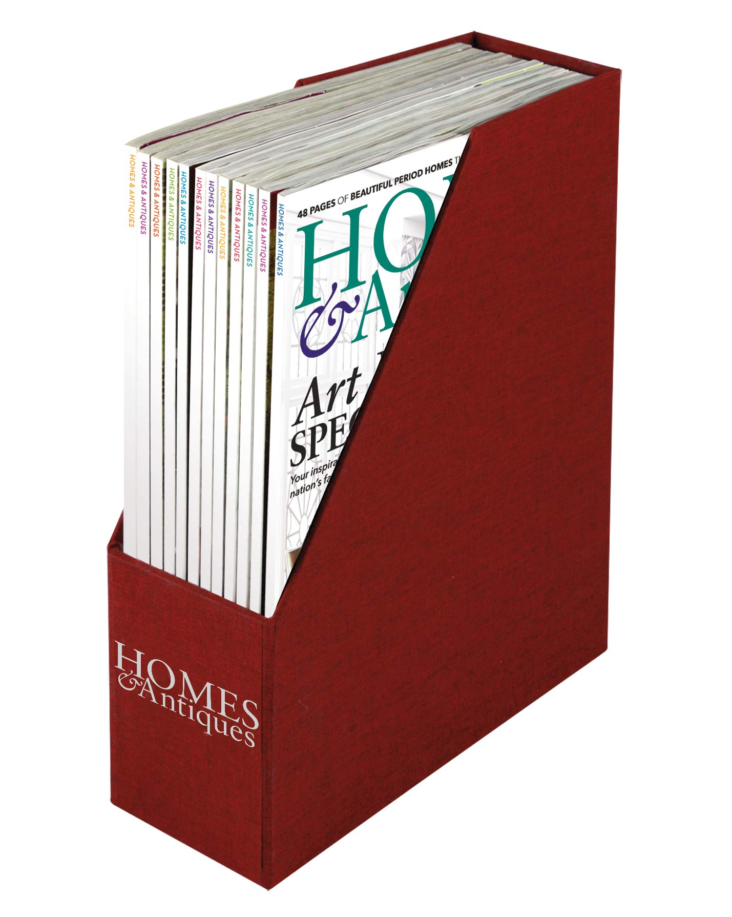 Homes & Antiques Magazine Binder
