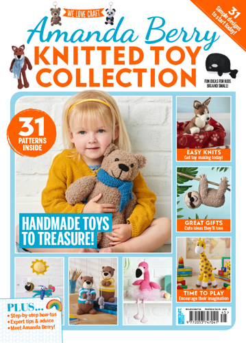 Amanda Berry Knitted Toy Collection