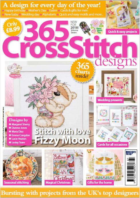 365 Cross Stitch Designs 2018