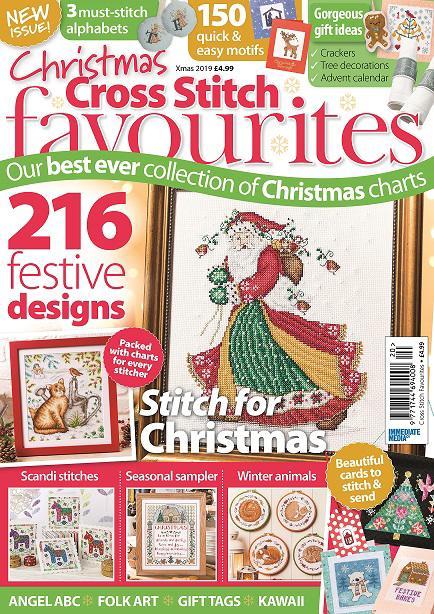 Abc Christmas Catalog 2019.Cross Stitch Favourites Christmas 2019