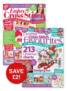 Cross Stitch Favourites and Enjoy Cross Stitch Xmas 2016 Bundle