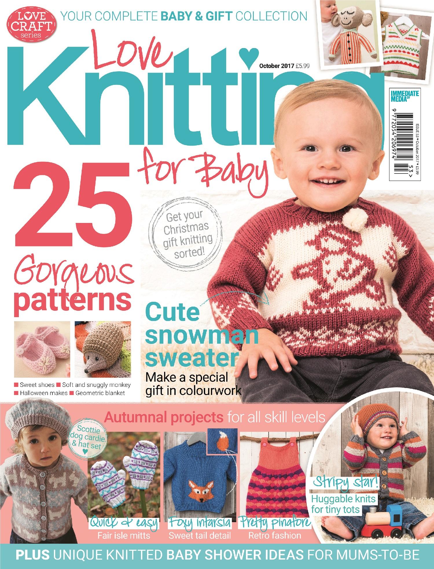 Knitting For Babies Magazine : Love knitting for baby winter