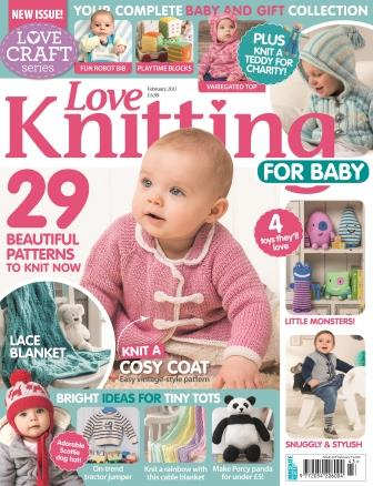 Love Knitting for Baby February 2017